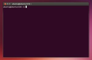 Obramowanie okien w Ubuntu 13.10.
