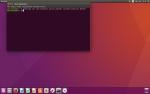 Ubuntu 16.04 - panel przy dolnej krawędzi