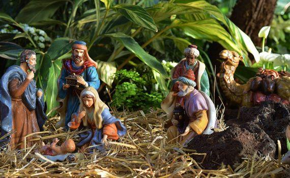 Scena ze stajenki w Betlejem