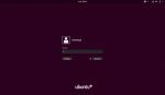 Ekran logowania (GDM) w Ubuntu 17.10