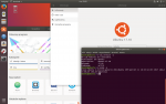 Pulpit i kilka okien w Ubuntu 17.10