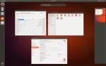 Przełączanie okien w Ubuntu 17.10