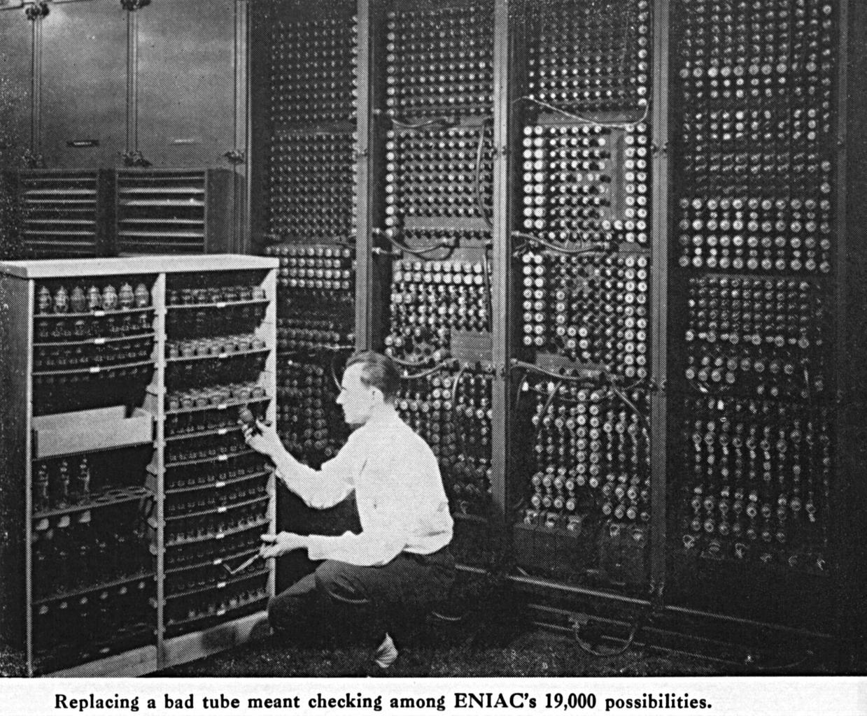 ENIAC - tak się zaczęło.