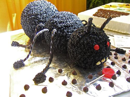 Tort w kształcie owada (ang. bug)